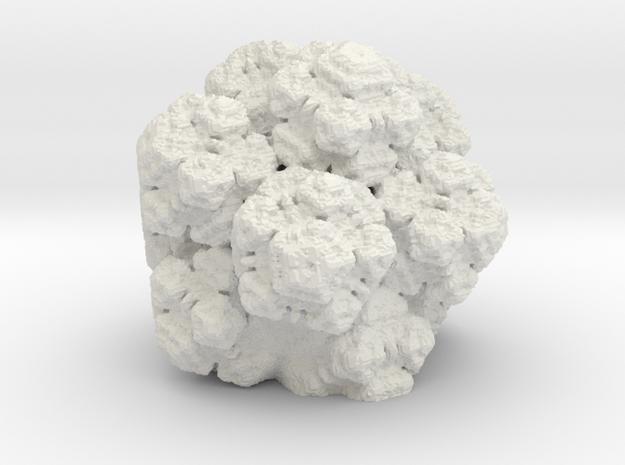 new era fractal in White Natural Versatile Plastic