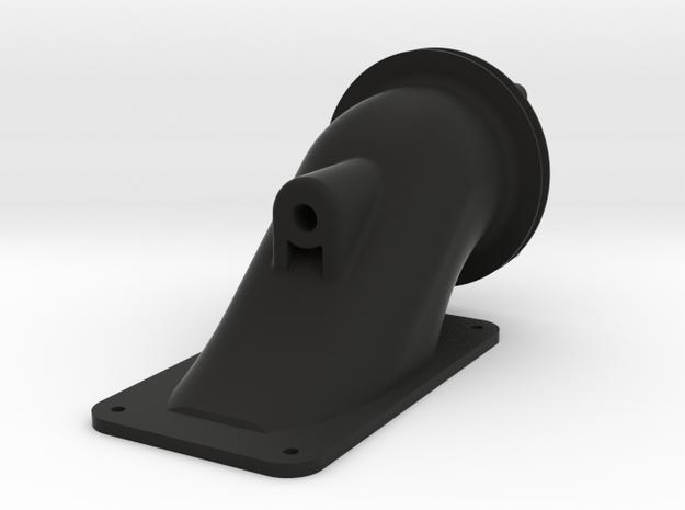 Inlet Ducting V8 in Black Natural Versatile Plastic