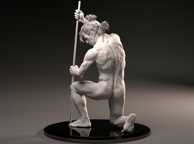 MaleAnatomySculptJivaArts in White Strong & Flexible