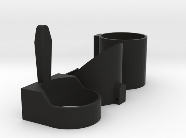 Darth Vader Lightsaber Emitter Shroud accurate in Black Natural Versatile Plastic