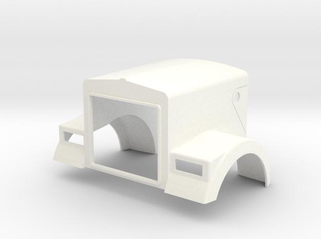 W900B For King or Grand Hauler cab in White Processed Versatile Plastic