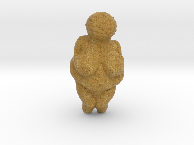 Venus of Willendorf (Lifesize) in Full Color Sandstone