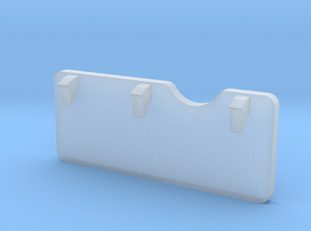 F08B-Folded Panel 6 Table in Smooth Fine Detail Plastic
