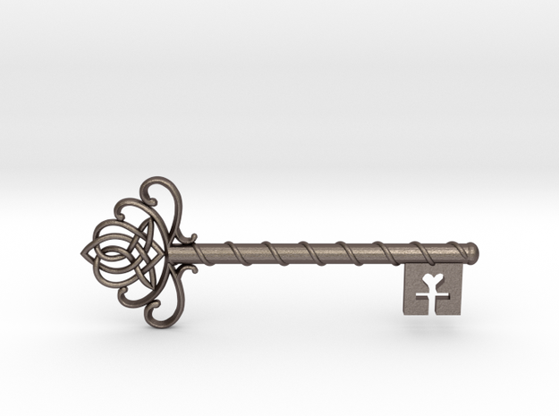 Skeleton Key with Celtic Knot