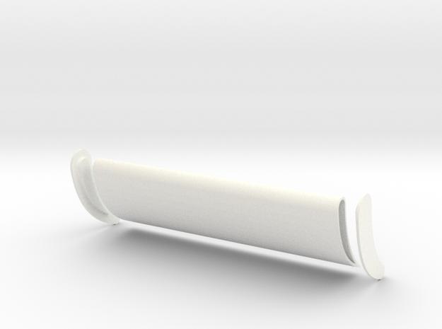 Big Rig Wing 1/24 in White Processed Versatile Plastic
