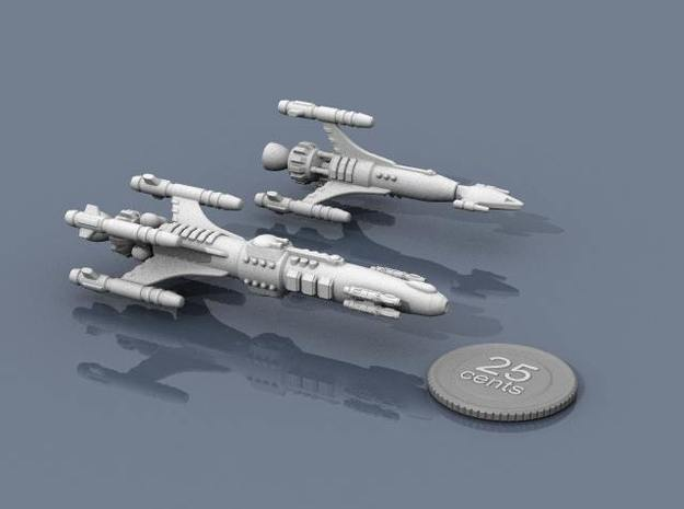 Privateer Impala Class Cruiser 3d printed Impala and Antelope.