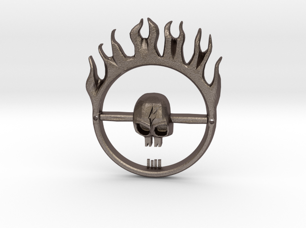 Mad Max Fury Road -- Furiosa's Belt Buckle in Stainless Steel