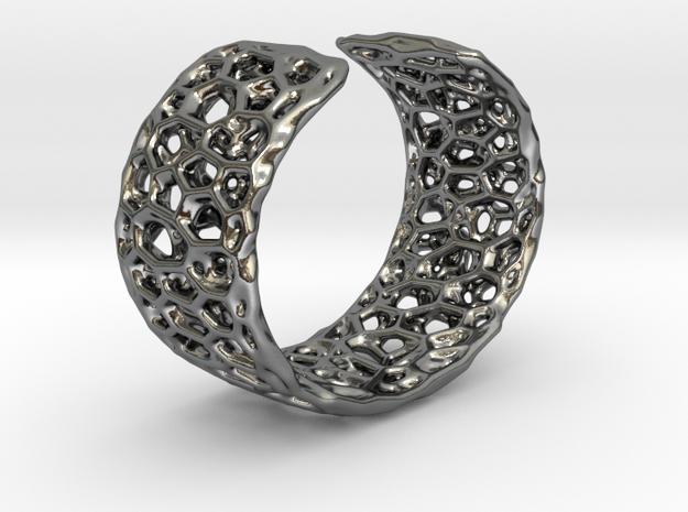 Frohr Design Radiolaria Bracelet Dec/01 in Polished Silver