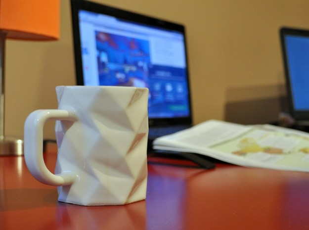 Coffee OctoMug - Low Poly Mug