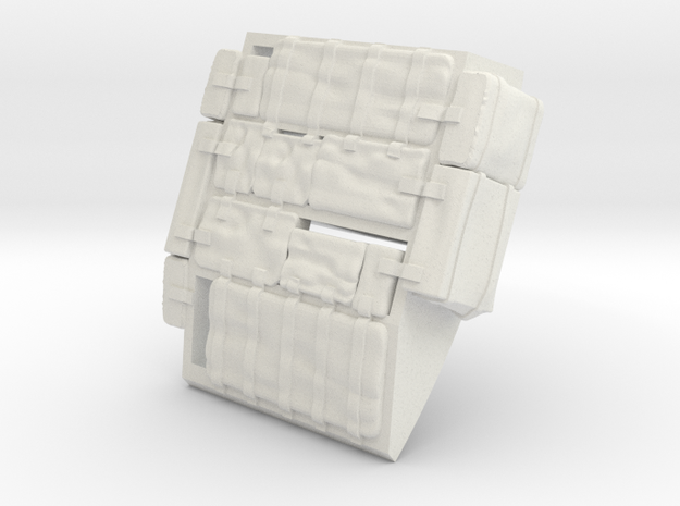 F15C-Right Bags in White Strong & Flexible