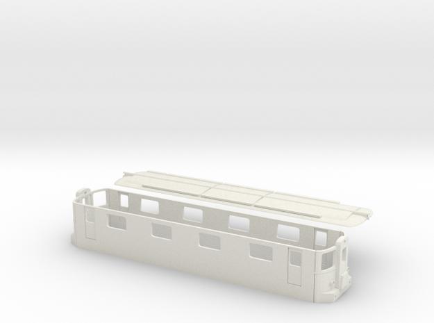 Re4/4 10001 SBB Spur TT 1/120 1:120 1-120 in White Natural Versatile Plastic