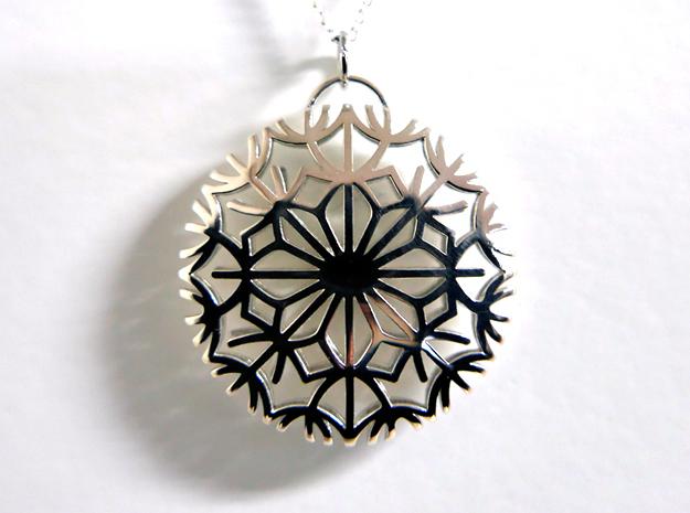 Dandelion seeds pendant(32mm)