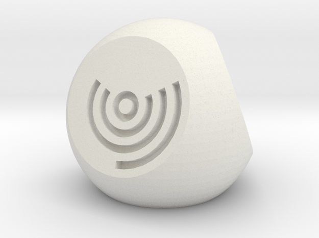 Arc Axis D4 Round Die in White Strong & Flexible