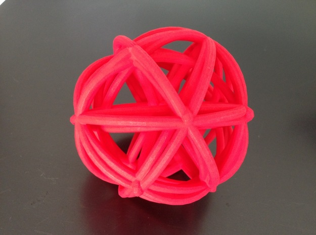 A4 3d printed hot pink III