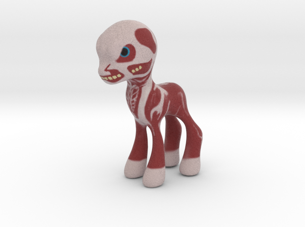 My Little Titan in Full Color Sandstone