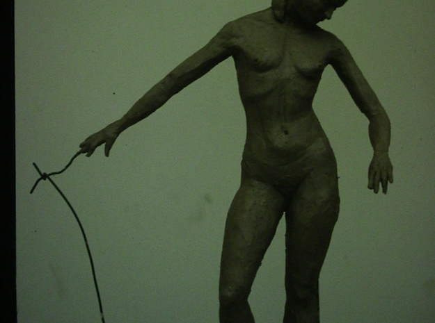 Standing Nude II 3d printed Clay modelling from life