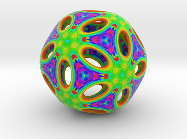 Plutonic-Icosa in Full Color Sandstone