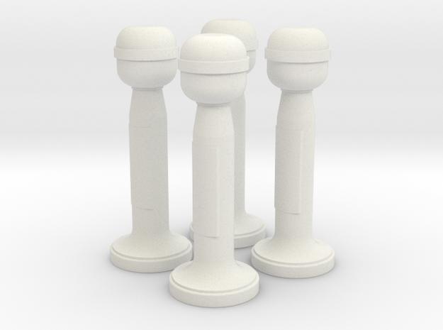 1/18 Pelorus Set in White Strong & Flexible