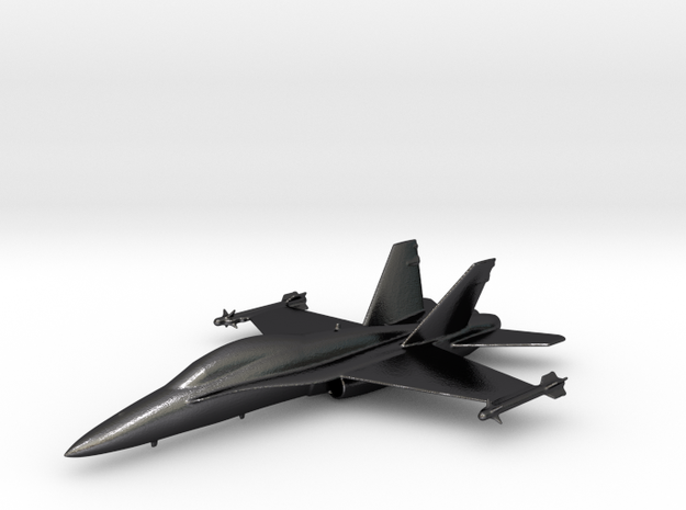 McDonnell Douglas F/A-18 Hornet F-18 Gold & precio in Polished and Bronzed Black Steel