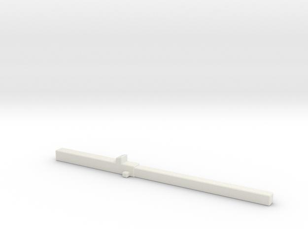 Z 008 Betonträger Ladegut HO 1:87 in White Natural Versatile Plastic