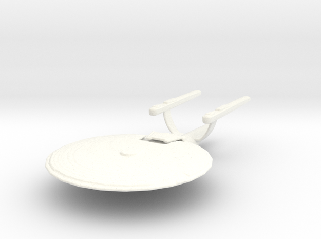 Uss Lance in White Strong & Flexible Polished