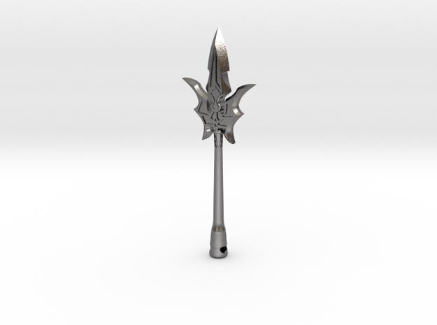 Spear in Polished Nickel Steel