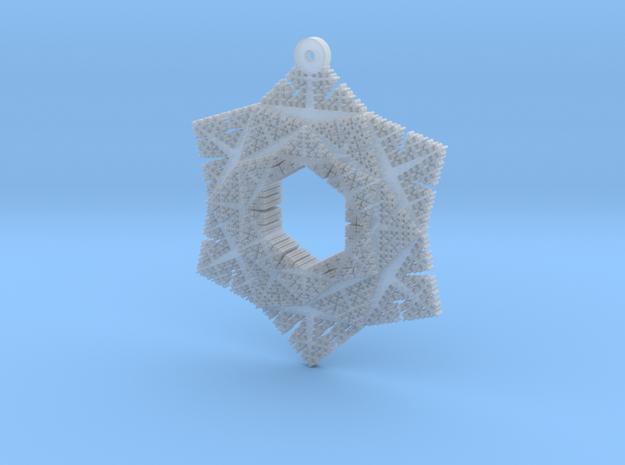 Cesaro Snowflake - 2 in Smooth Fine Detail Plastic
