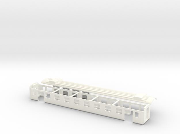 EW III SBB Spur TT 1-120 1 :120  1/120 in White Processed Versatile Plastic