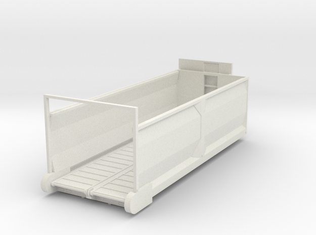 1/64 Diller forage box 22ft  in White Strong & Flexible