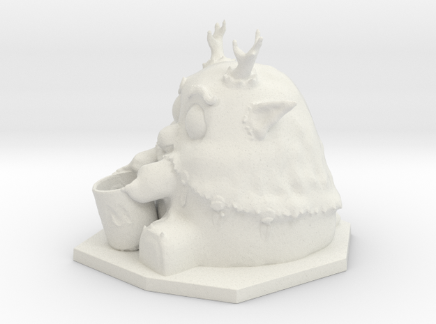 Moonkin Sculpture in White Strong & Flexible