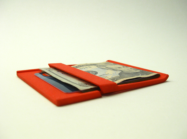 Akio: a wallet/clip in White Natural Versatile Plastic
