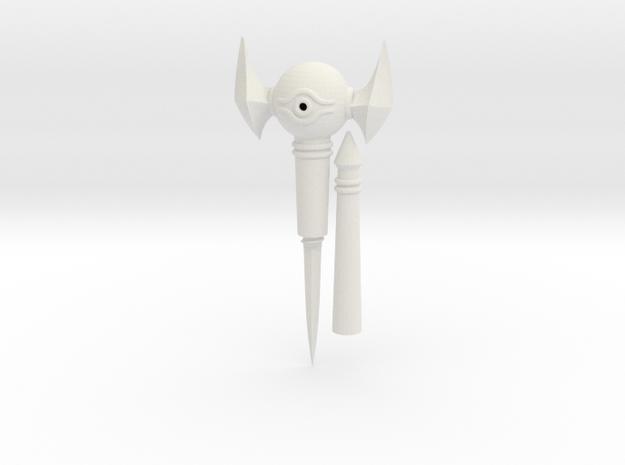 Mini Millennium Rod - Letter Opener - Yu-gi-oh! in White Natural Versatile Plastic