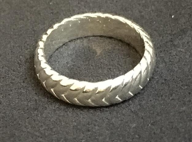 V Ring3  in Premium Silver: 6.5 / 52.75
