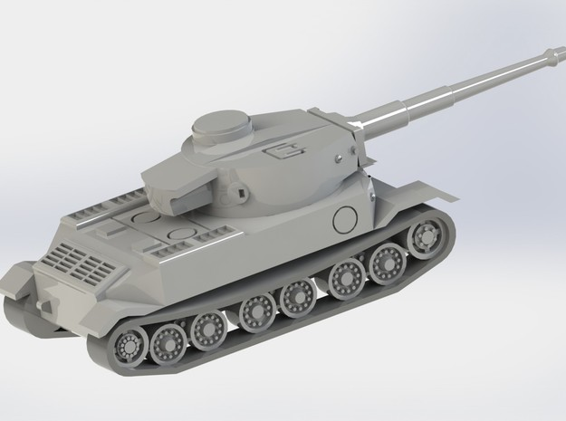 VK4501 Tiger Tank 1/285 6mm 3d printed