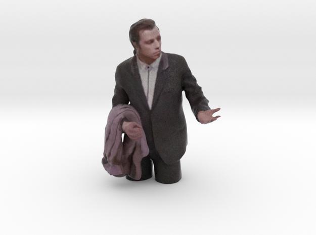Travolta Confused Meme - hollow in Full Color Sandstone