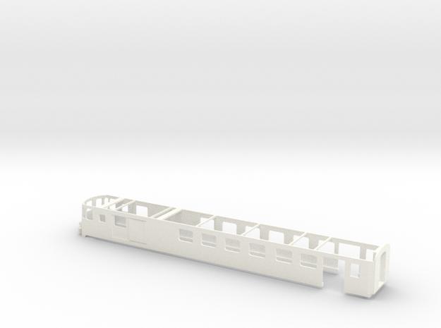 SBB Steuerwagen RB-Pendel  Scale TT 1/120 1:120 1- in White Processed Versatile Plastic