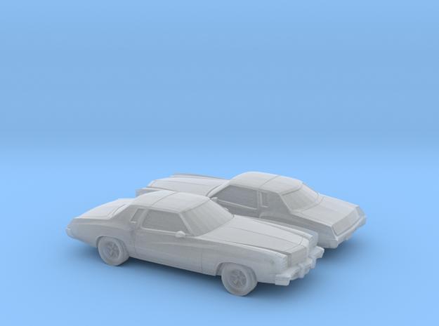 1/160 2X  1976-77  Chevrolet Monte Carlo in Smooth Fine Detail Plastic