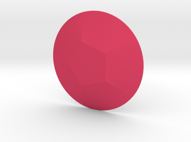 Steven Universe - Gem - Rose in Pink Processed Versatile Plastic