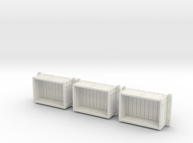 A-1-64-wdlr-a-class-open-fold-side-ends-wagon1c-x3 in White Natural Versatile Plastic