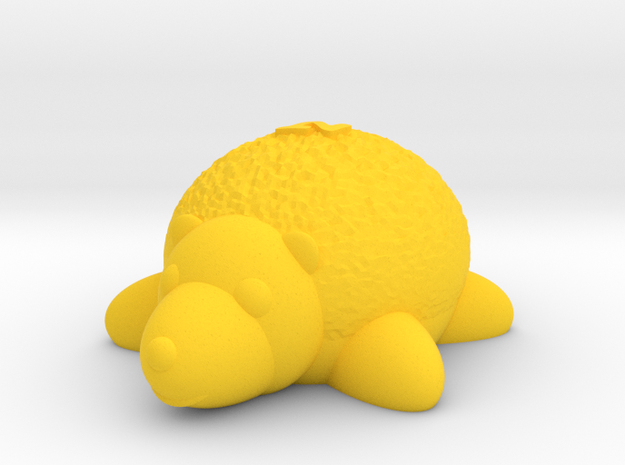 Hedgehog (Nikoss'Animals) in Yellow Strong & Flexible Polished