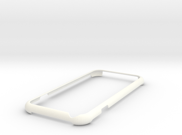iPhone 6s minimalistic case in White Processed Versatile Plastic