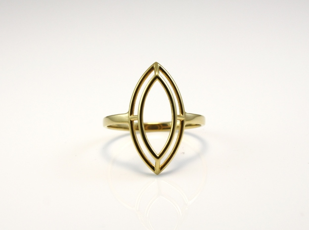 Marquise Simple Wire Ring - US Size 09