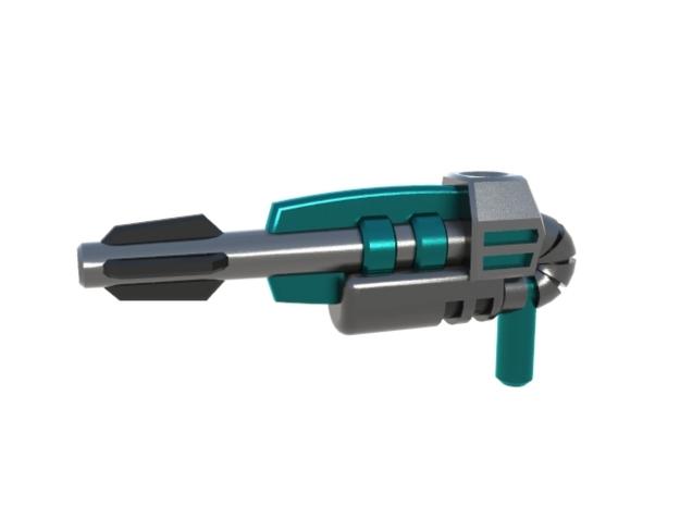 Legion TFP Rippersnapper Blaster 3d printed