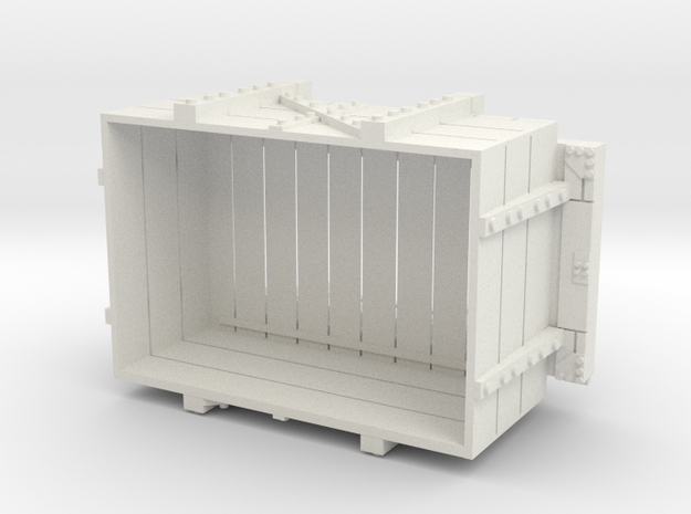 A-1-12-wdlr-a-class-open-2c in White Natural Versatile Plastic