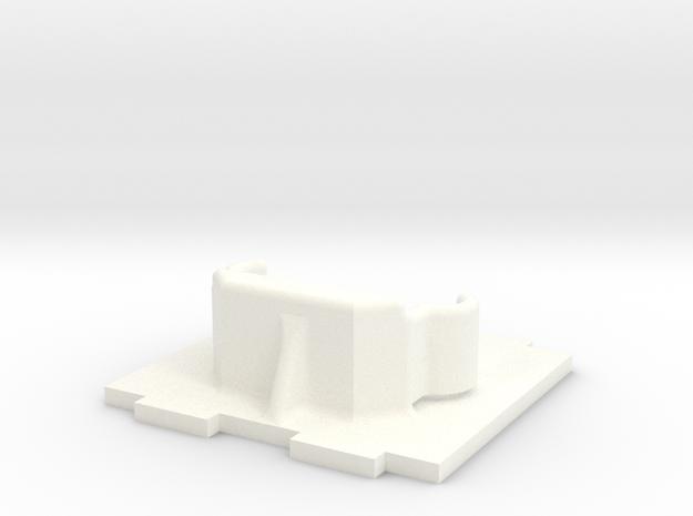 600 Tvl Mount 0° V2 in White Processed Versatile Plastic