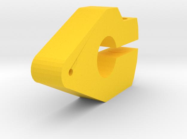 Tracker Bras De Levier in Yellow Processed Versatile Plastic
