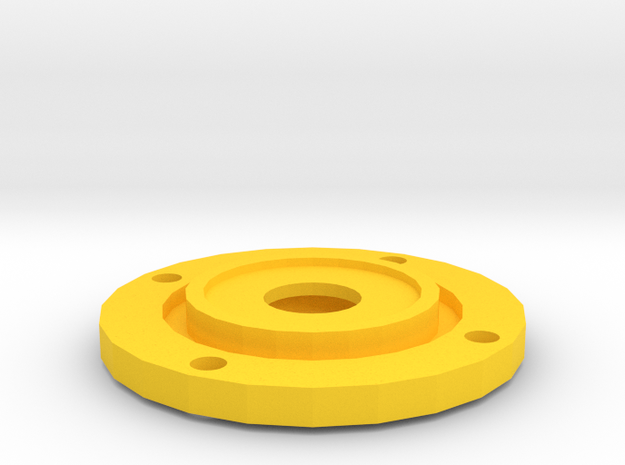 Tracker Cache Ht Int in Yellow Processed Versatile Plastic