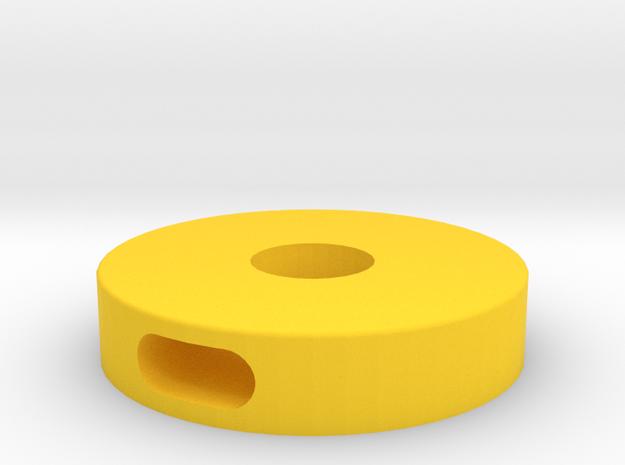Tracker Fermeture Cage Pvc in Yellow Processed Versatile Plastic