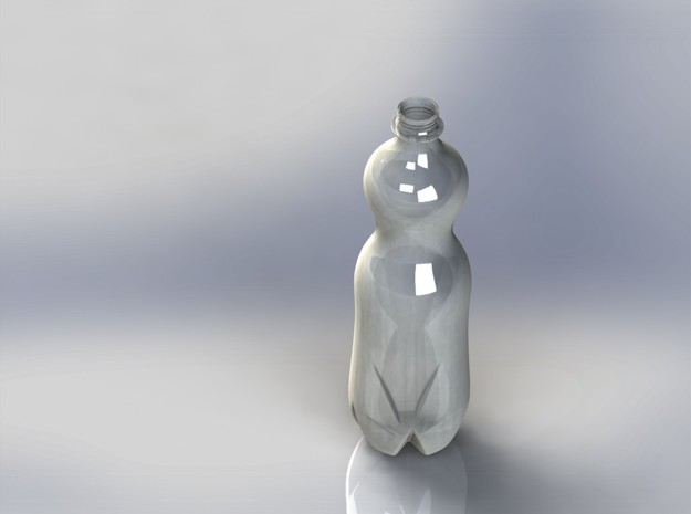 Water Bottle 3d printed