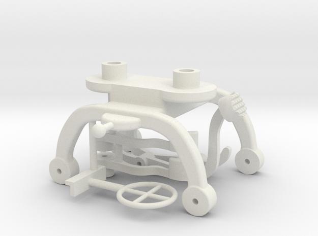 Villar-Perosa MG 1-6 Last Crusade Parts in White Natural Versatile Plastic